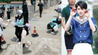 Patut Ditiru, Fans Cai Xukun Bantu Bersihkan Sampah di Lokasi Syuting