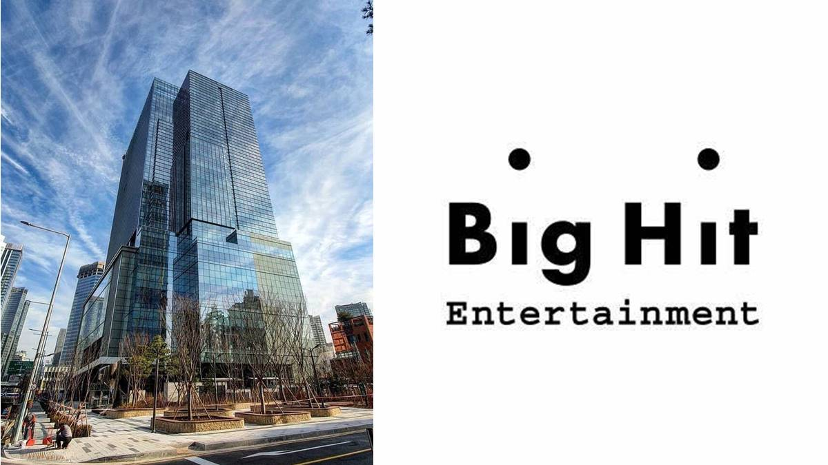 Big Hit Entertainment logo and office