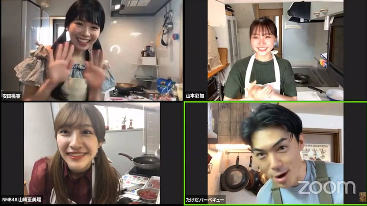 NMB48 cooking show