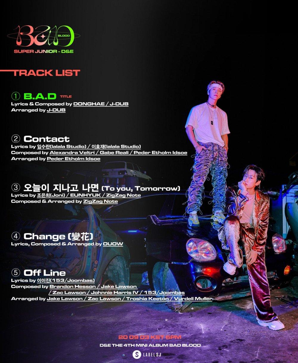 Super Junior D&E Bad Blood