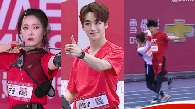 Wang Yijin BonBon Girls 303 He Luoluo R1SE Super Nova Games 2020