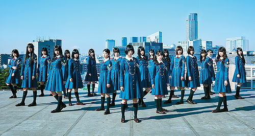 "1st Single Keyakizaka46 ""Silent Majority"""