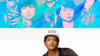 Arashi (Atas), Bruno Mars (Bawah) - Foto (@ARAMA JAPAN)