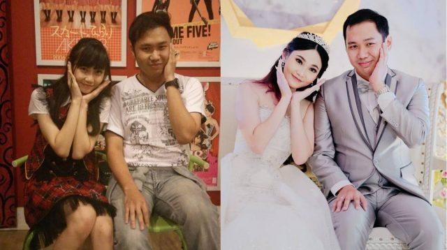 Andela Yuwono menikah