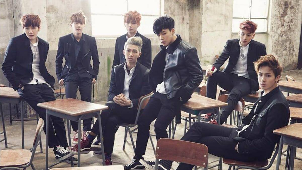 BTS Skool Love Affair