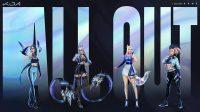K/DA Grup Virtual KPOP Gim 'League of Legend' dengan Member (G)I-DLE Ungkap Tracklist Mini Album Pertama