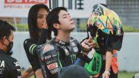Wang Yibo Terjatuh di Balap Motor ZIC Motorbike Race 2020 Hingga Bikin Geram Fans