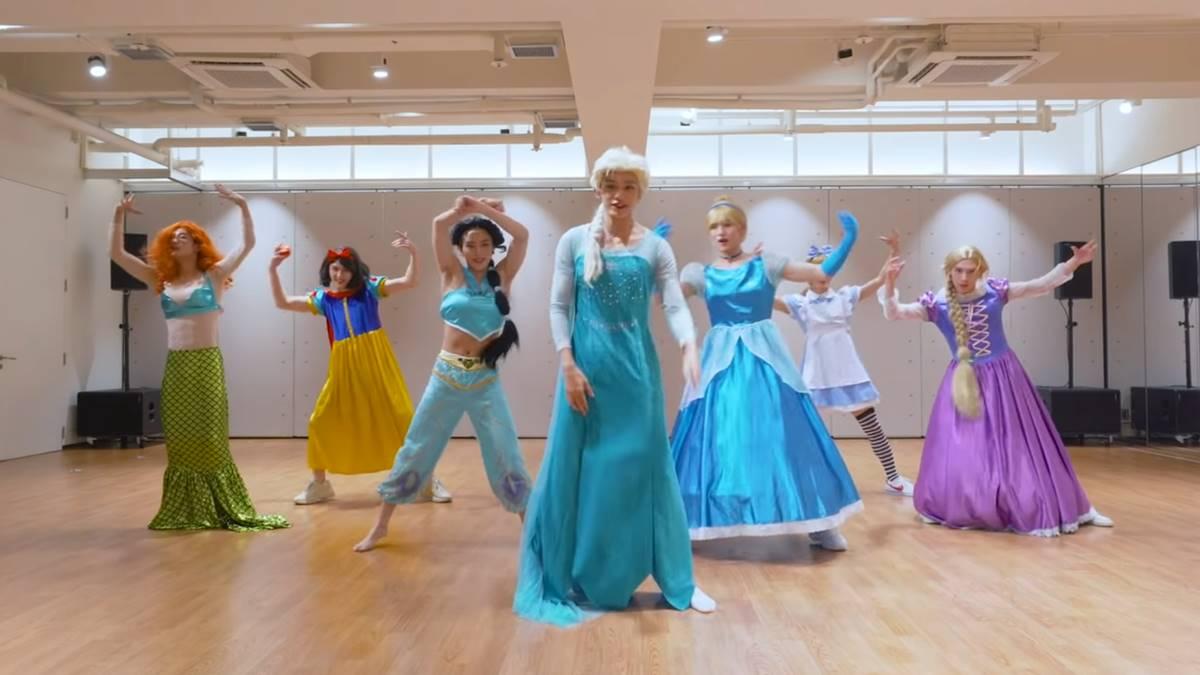 WayV Princess Disney