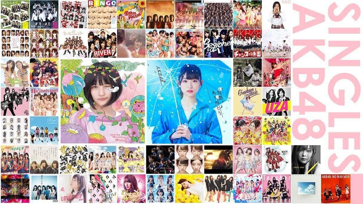 AKB48 singles