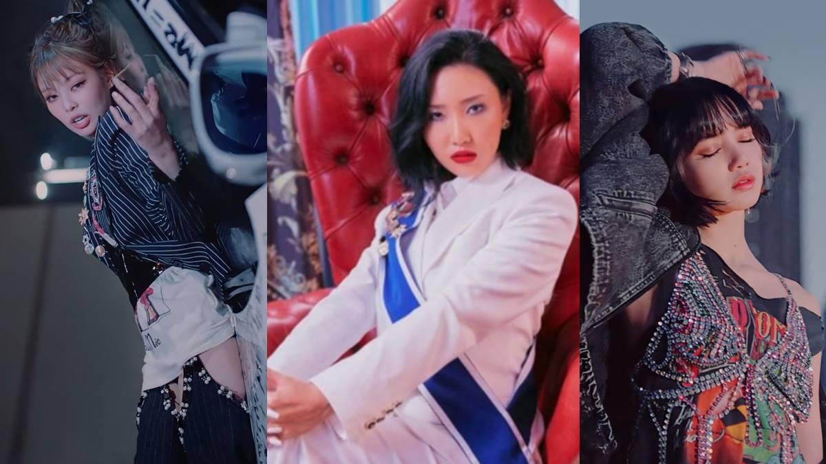 Jennie Hwasa Lisa Brand Reputation Girl Group member 2020