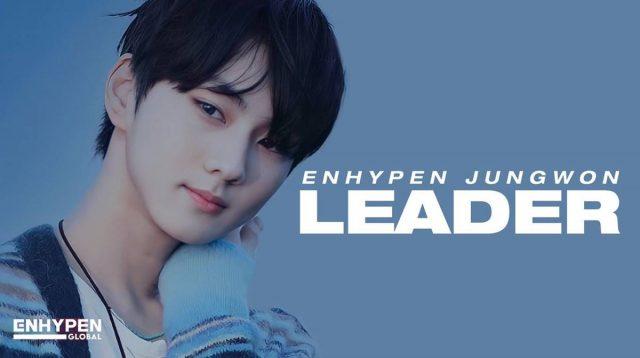 Jungwon ENHYPEN leader