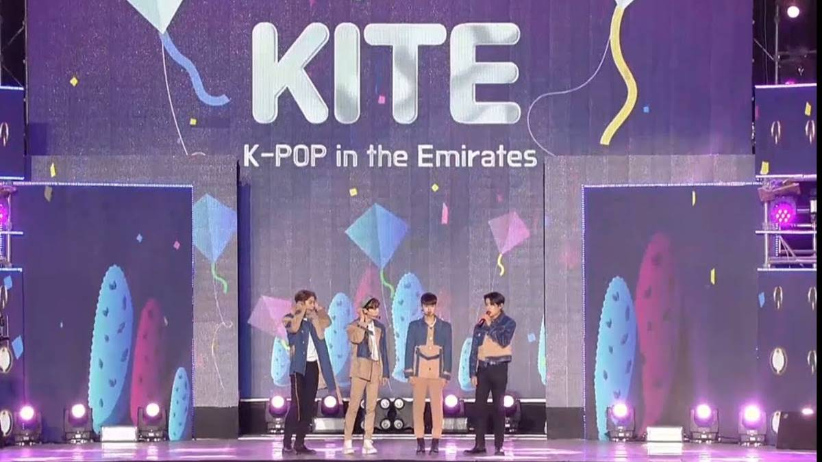 KPOP in the Emirates KITE UEA