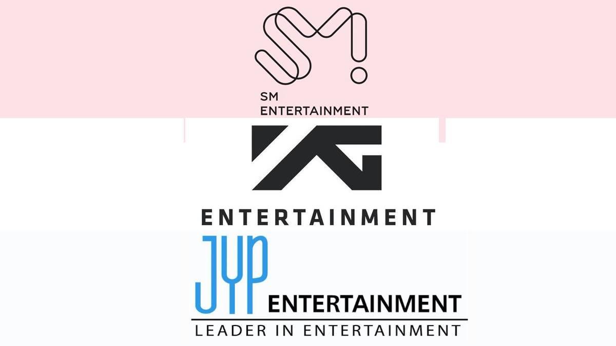 SM Entertainment YG JYP