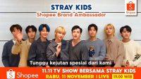 Shopee Indonesia Tunjuk STRAY KIDS Jadi Brand Ambassador