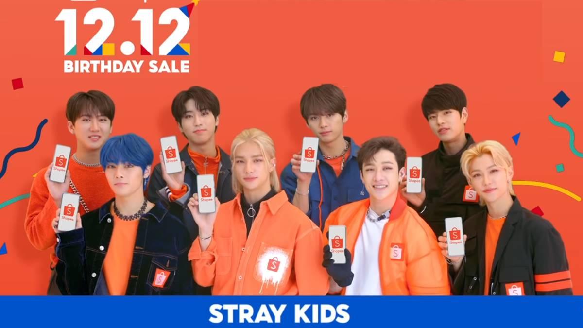 stray kids 12.12 shopee