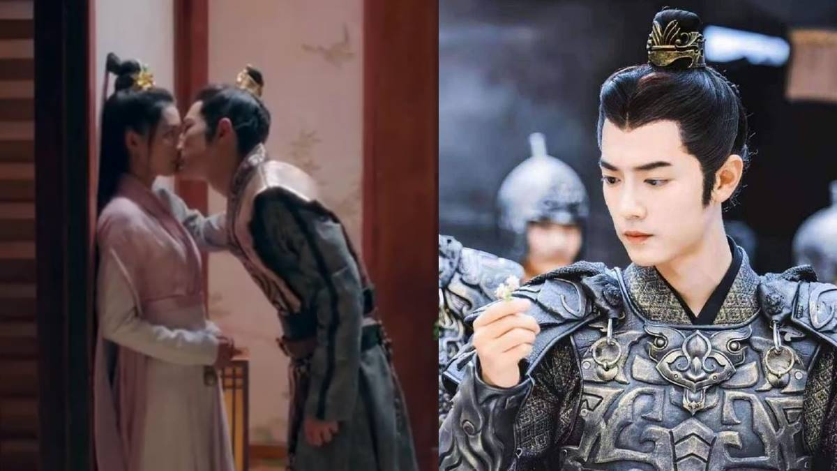 xiao zhan kissing scene