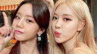 Rose BLACKPINK kirim hadiah natal ke lokasi Syuting Hyeri Girls Day