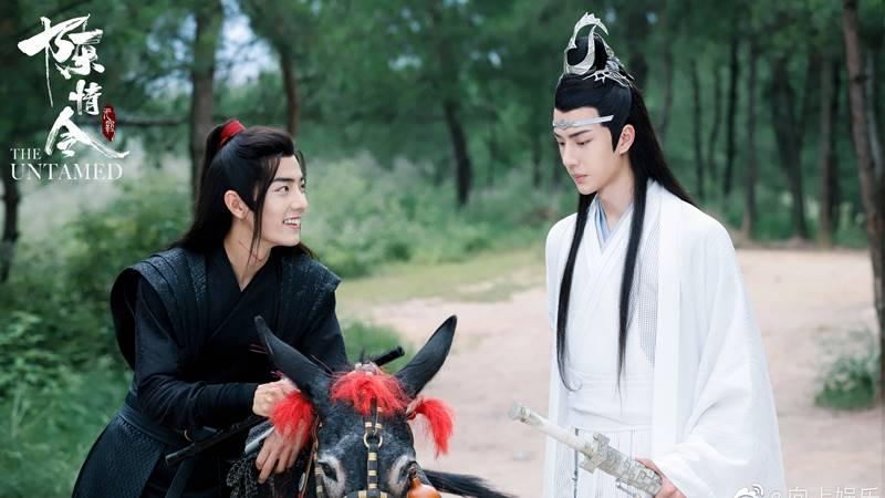 The Untamed Wei Wuxian Lan Zhan