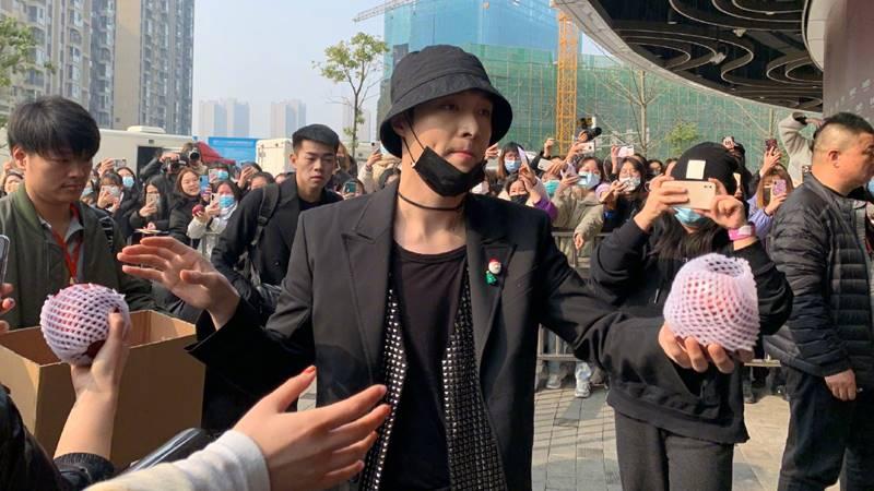 lay zhang apple
