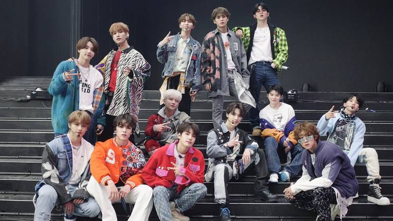 seventeen boy group