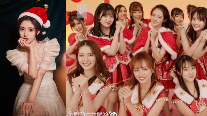 snh48 ju jingyi christmas