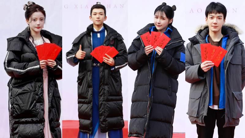 sun zhenni zhang yuge snh48 jimmy zhou drama studio48