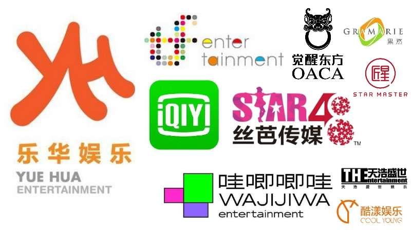10 top agensi hiburan China Chinese entertainment agensi