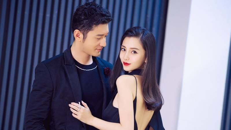 angelababy huang xiaoming couple