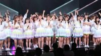 hkt48 single announcement at theater