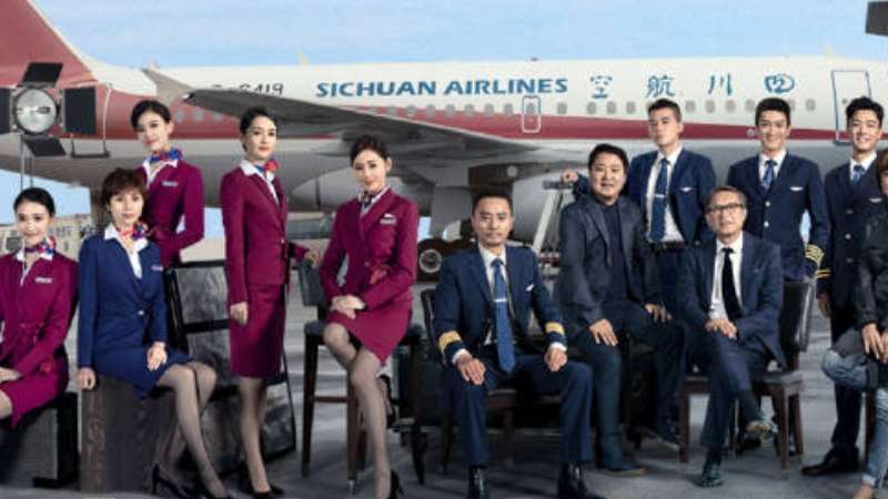 the captain sichuan airlines