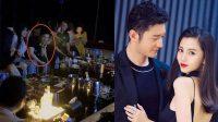 Huang Xiaoming Terekspos Pergi Ke Klub Malam, Isu Percerian dengan Angelababy Kembali Mencuat
