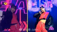 Kocaknya Julius Liu Wei Cosplay dan Menari Bak Lisa BLACKPINK
