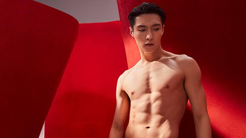 lay zhang hot