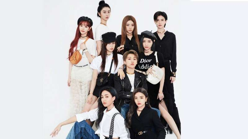 the9 chinese girl grup