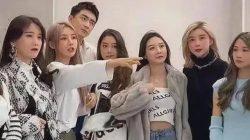 lin gengxin with beautiful girls