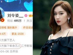 Tepis Rumor Kencan, Liu Lingzi Tegaskan Dirinya Artis Jomblo Naungan OACA Entertainment