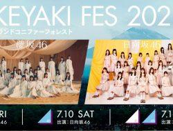 Sakurazaka46 dan Hinatazaka46 akan Gelar Konser Bersama Selama 3 Hari.