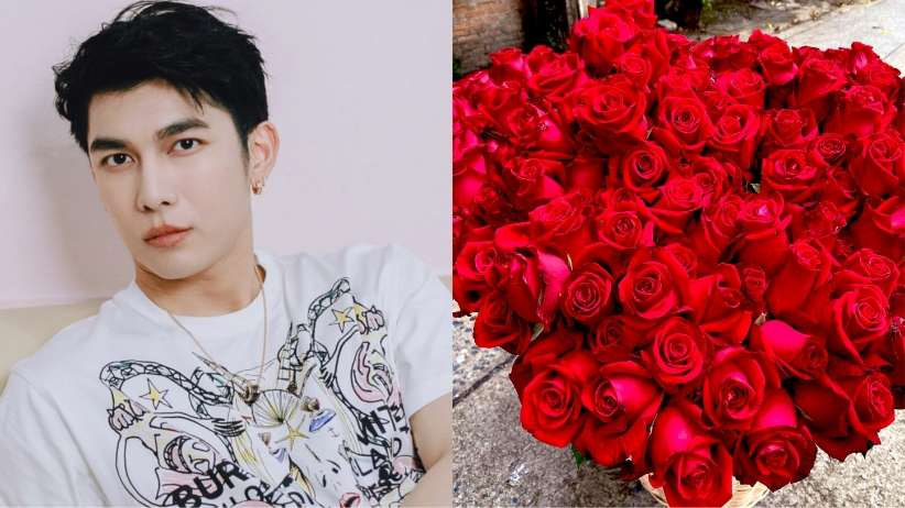mew Suppasit rose for fans