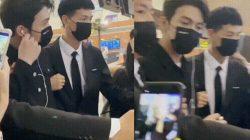 zhang binbin at airport