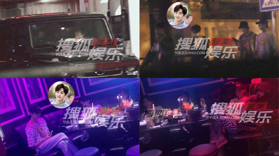 he luoluo with a girl in karaoke ktv