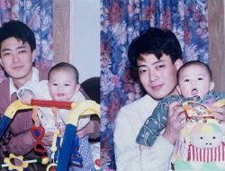 Ayah Hou Minghao Dipuji Netizen Sangat Tampan, Tak Kalah dengan Sang Anak