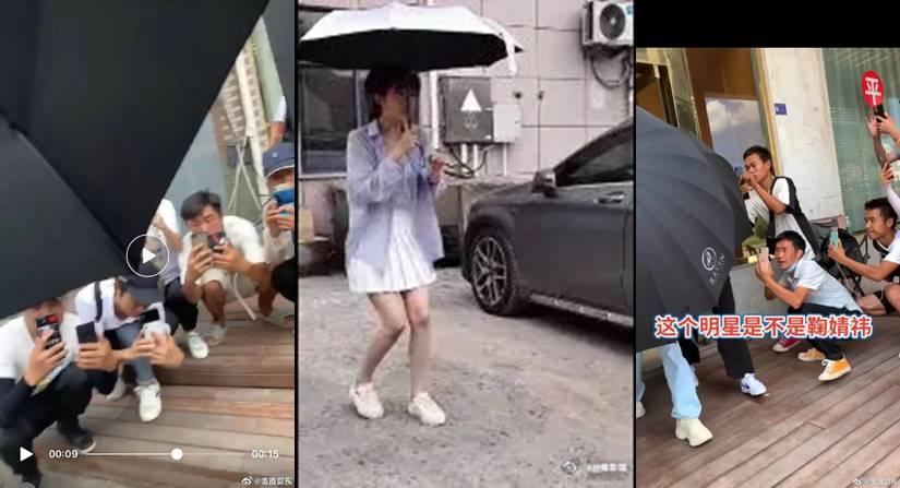 ju jingyi didn't want to wear mini skirt