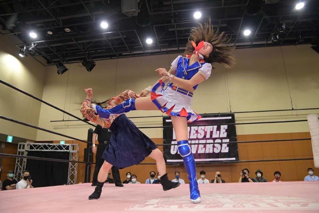 Arai Yuki (SKE48 Team KII) Saat Mengalahkan Miyamoto Moka di Pertandingan Final