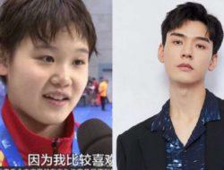Zhang Jiaqi Peraih Emas Olimpiade Ungkap Idolakan Gong Jun