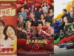 Box Office Bioskop Tiongkok Pertengahan 2021 Capai 30 Miliar