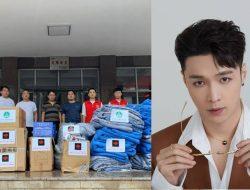 Lay Zhang Sumbang Makanan dan Donasi Uang untuk Korban Banjir Henan
