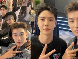 Anggota Tiongkok UNIQ Reuni di Acara Ulang Tahun Yuehua Entertainment