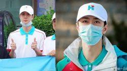 wang yibo relawan banjir henan