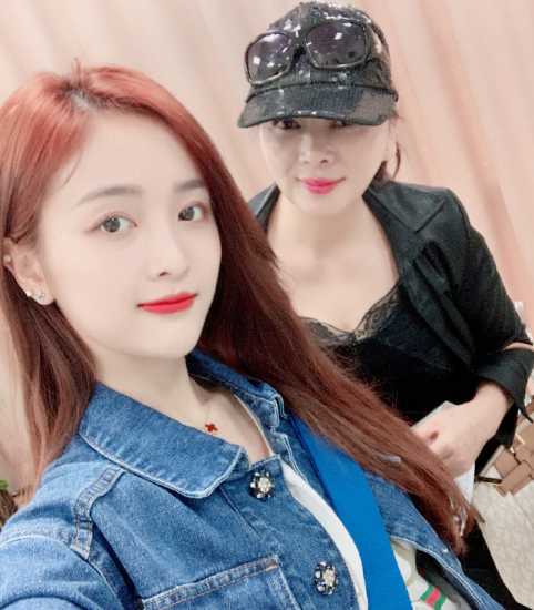 wu xuanyi and her mom