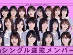 Berjumlah 21 Members, Inilah Susunan Senbatsu Single ke-28 Nogizaka46